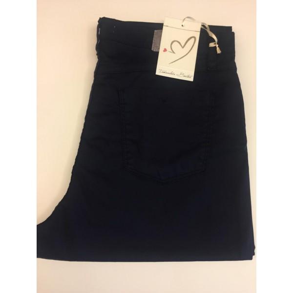 Pantalón 5 bolsillos Inmaculada Bertos falso liso - 1