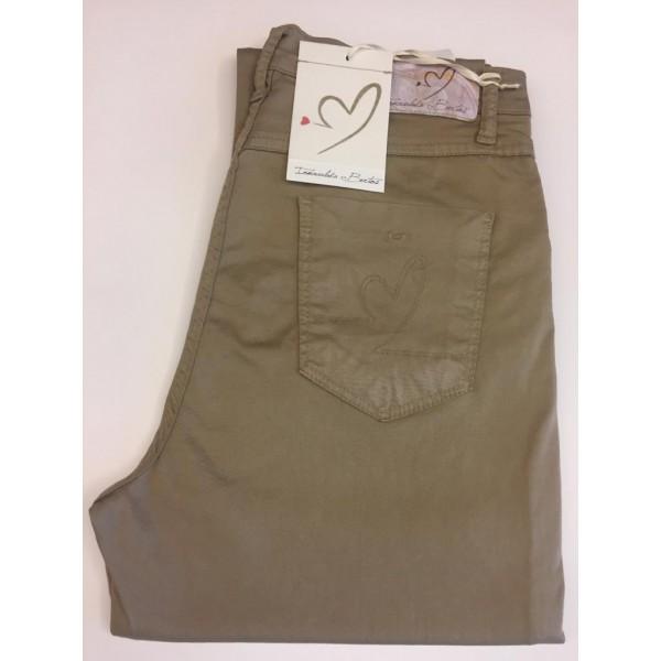 Pantalón 5 bosillos Inmaculada Bertos liso - 1