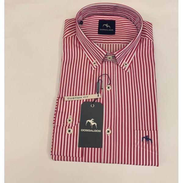 Camisa manga larga DOS GALGOS custom fit - 2