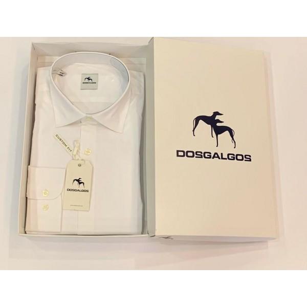 Camisa manga larga DOS GALGOS custom fit lisa