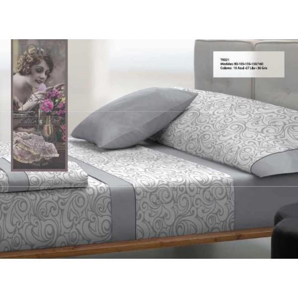 sabana diseño estilo de tolra gris