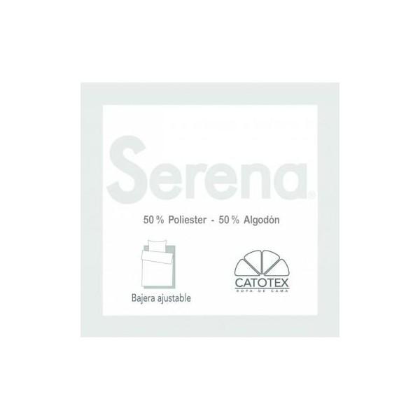 Sabana bajera ajustable 50/50 diseño Serena de Catotex