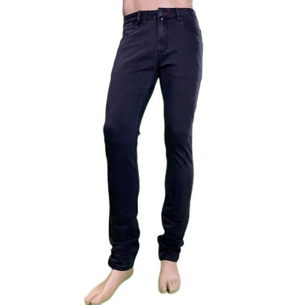 Pantalón vaquero juvenil elástico, color negro, Matrix Kleber de BX jeans. - 1