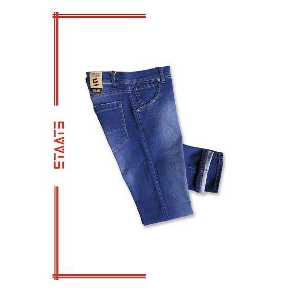 Pantalón vaquero joven, elástico,  en color azul, de Staats - 1