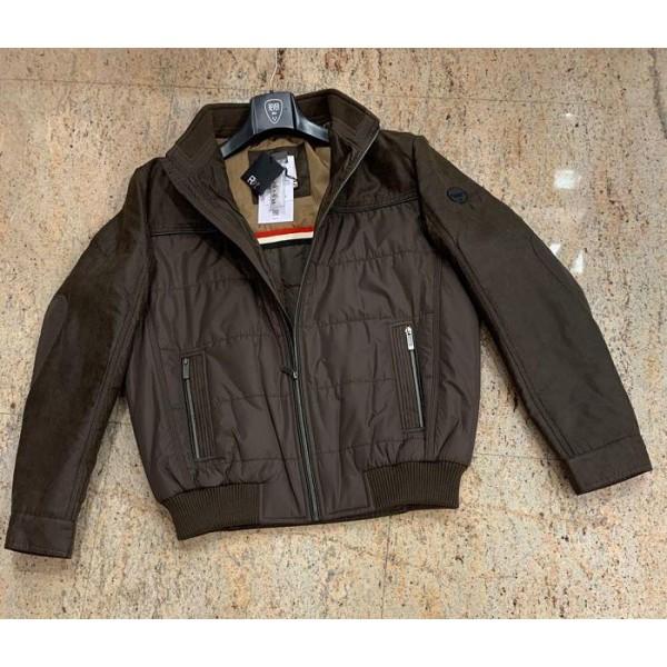 Cazadora juvenil Rever diseño Pas acolchada, color marrón - 5