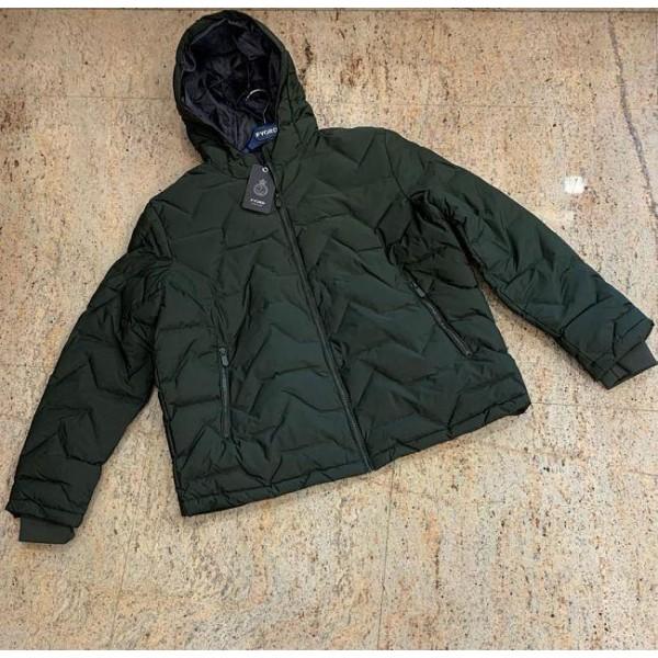 Cazadora guateada,verde oscuro, diseño Kols/ci de Fyord. - 1