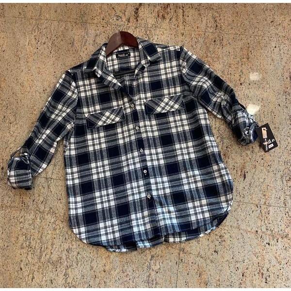Camisa manga larga viella de cuadros de SttiLo  - 1